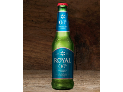 Royal 0,0 % 33 cl 24 stk.