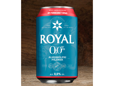 Royal Free dåse 33 cl 24 stk