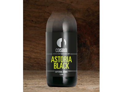 Coisbo Astoria Black 33 cl. 24 stk.