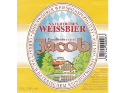 Jacob Weissbier Hell 30 ltr.